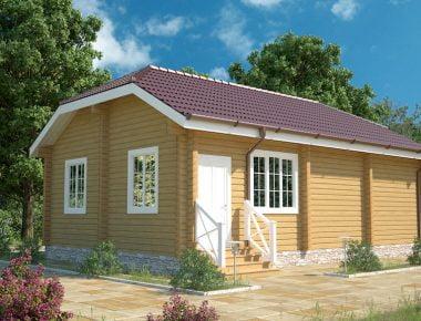 Дешевые дома из бруса под ключ недорого