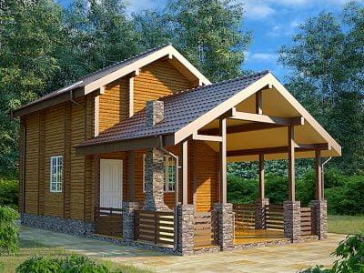 деревянные дома под ключ цены